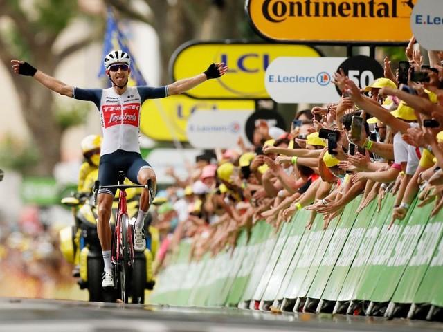 Tour de France - Bauke Mollema siegt nach Alleinfahrt in Quillan