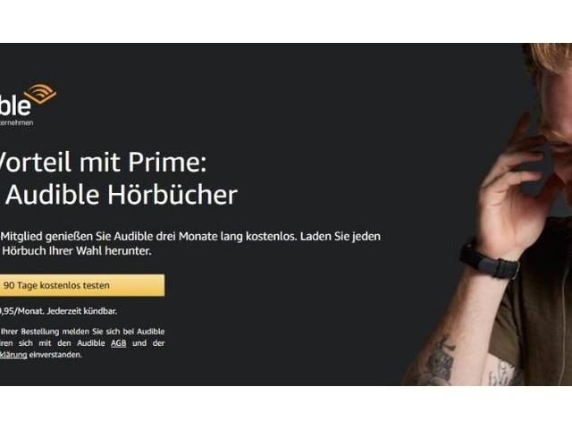 Amazon schenkt Prime-Mitgliedern drei Hörbücher
