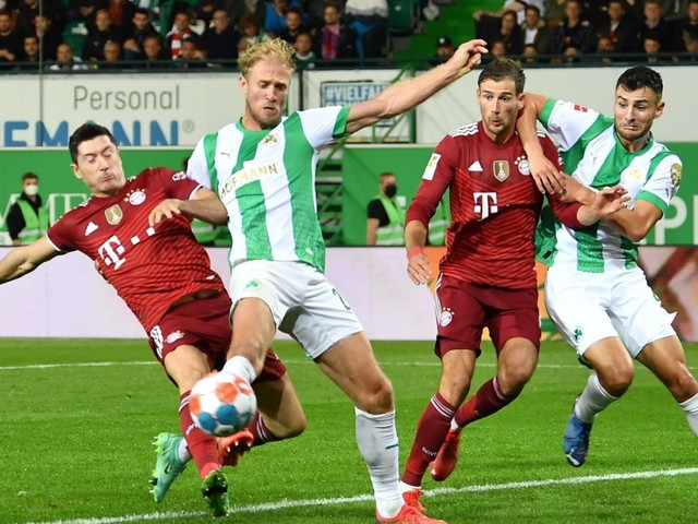 FC Bayern in der Einzelkritik: Lewandowski verpasst Müller-Rekord um Fußspitzenbreite
