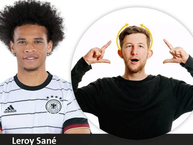 [GA+] Bei Gnabry wird gerührt: So werden die Namen des DFB-Teams in Gebärdensprache übersetzt