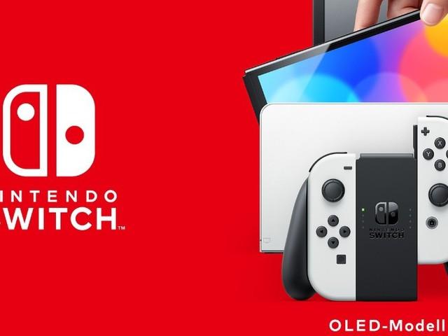 Nintendo Switch (OLED-Modell): Neue Konsolen-Variante mit OLED-Schirm und LAN-Anschluss kommt im Oktober