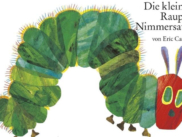 """""""Die kleine Raupe Nimmersatt"""": Seit 50 Jahren grün und hungrig"""
