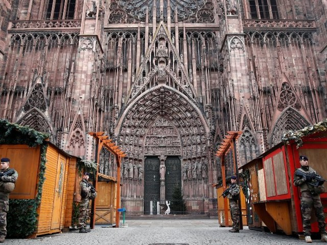 Anschlag in Straßburg: Eine Stadt verstummt