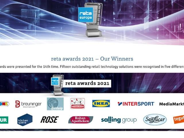 EHI gibt Gewinner der Reta Awards 2021 für beste Technologie-Lösungen im Handel bekannt