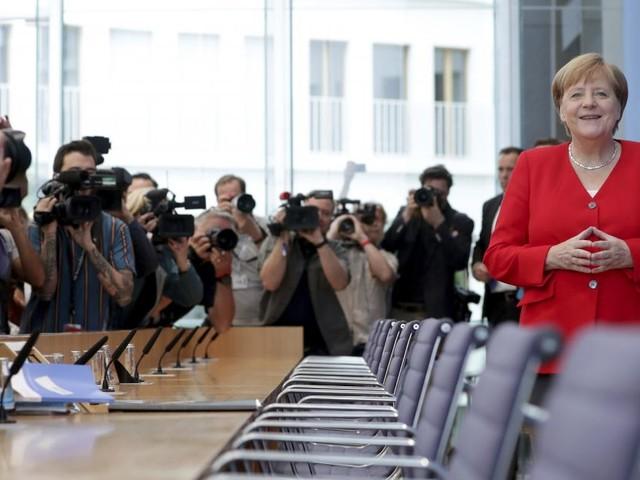 Merkel: Nur die Ruhe