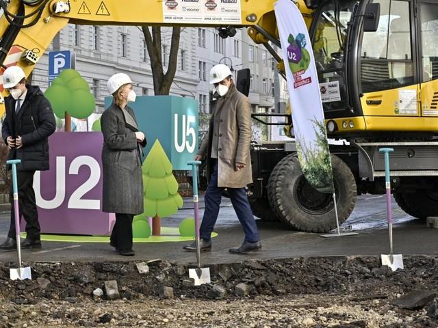 Wien: U-Bahn-Linie U2 ab Ende Mai teilweise gesperrt