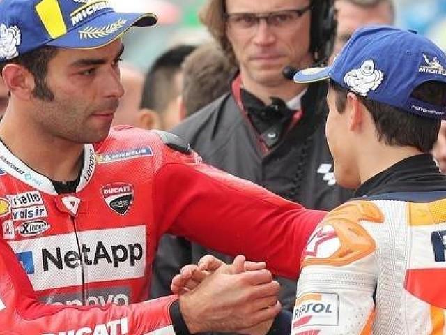 - In Lauerstellung: Ducati will Marc Marquez unter Druck setzen