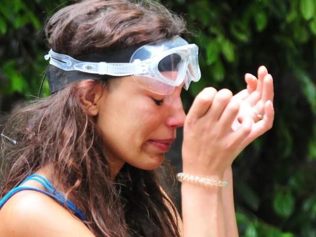 Dschugelcamp 2019: Gisele Oppermann flieht weinend aus Schlangengrube