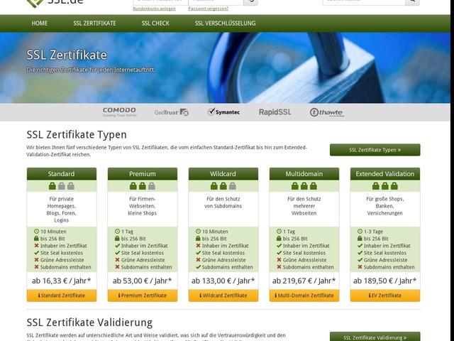 SSL-Zertifikate kaufen - SSL-Zertifikate verlängern - jetzt schnell ...