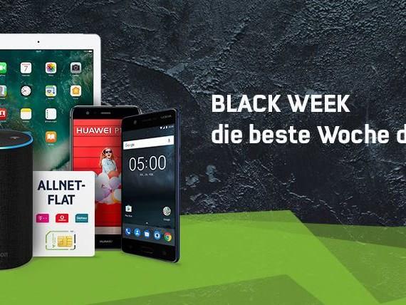 Tarife, Smartphones & mehr: Black Week bei mobilcom-debitel gestartet