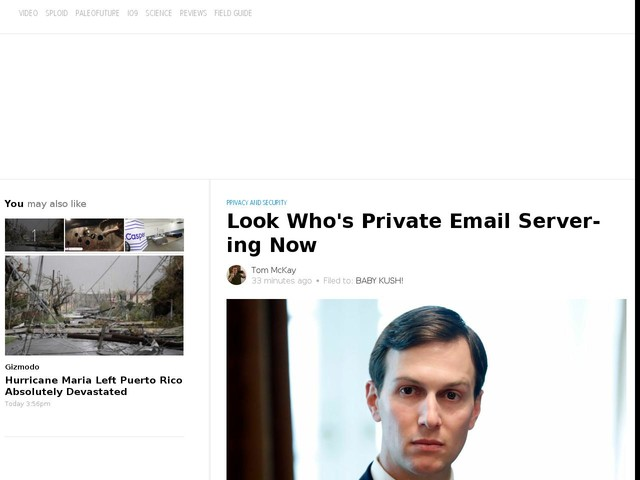 Look Who's Private Email Server-ing Now
