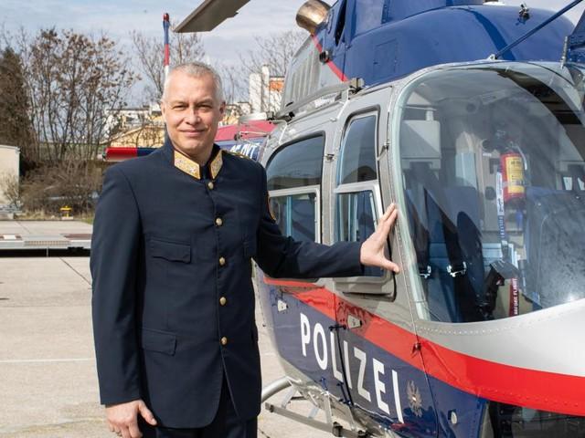 Polizei-Hubschrauber: Mit neuem Chef auf neuem Kurs