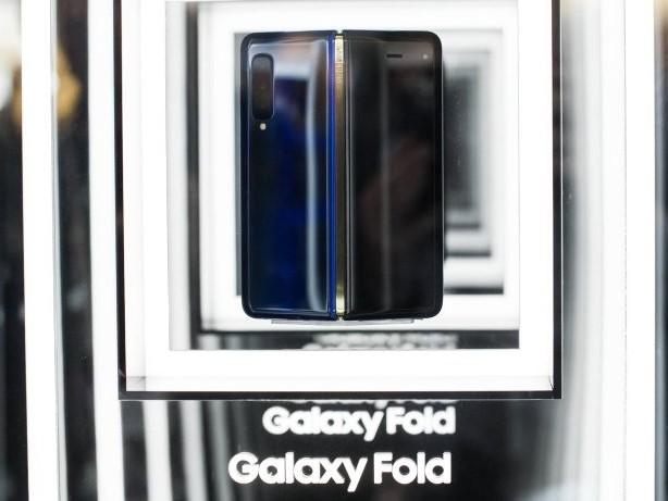 Samsungs faltbares Smartphone hat ein hässliches Display-Problem