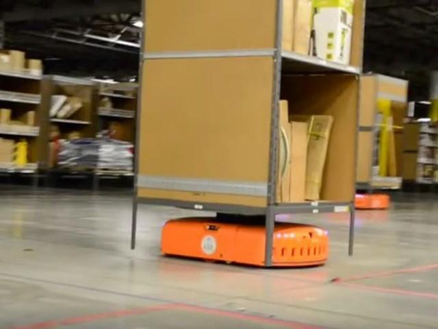 Amazon: Logistikroboter jetzt auch in Deutschland