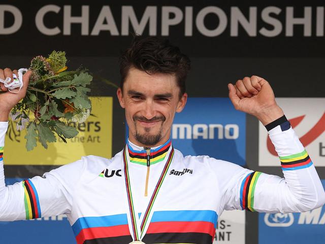 Radsport: Rad-WM: Alaphilippe verteidigt seinen Titel