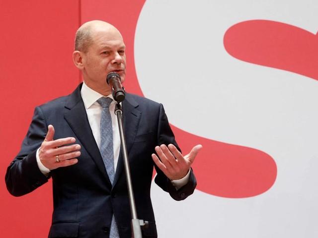 """Olaf Scholz will """"so schnell wie möglich"""" eine Regierung mit Grünen und FDP bilden"""