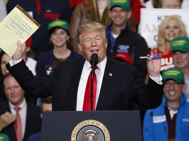 US-Kongresswahlen: Tribunal oder Triumphzug für Trump