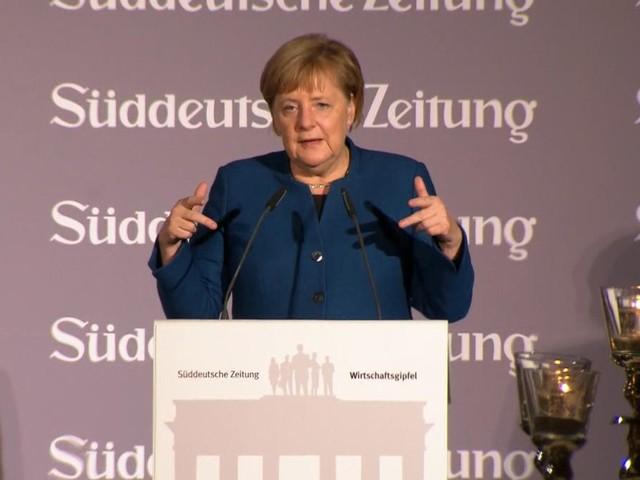 Rede von Angela Merkel zur Zukunft der Arbeit