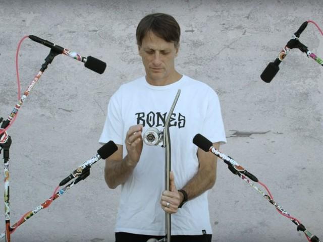 """Tony Hawk """"The Sound of Skateboarding"""" Ein Film aus 650 unterschiedlichen Skateboard Sounds"""