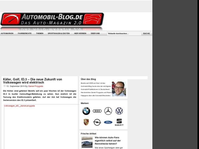 Käfer, Golf, ID.3 – Die neue Zukunft von Volkswagen wird elektrisch