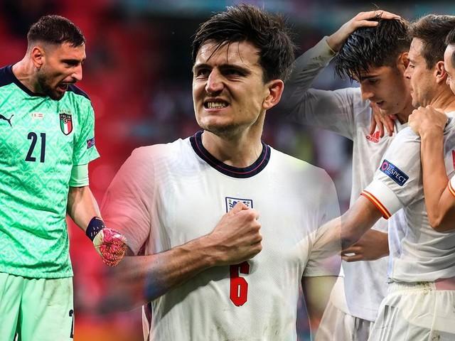 Die EM-Viertelfinalisten im Zahlen-Check: Das macht Italien, England und Co. so stark