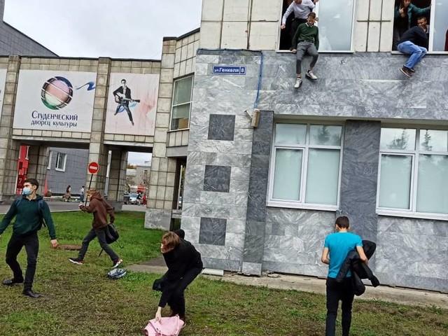 Acht Tote und mehrere Verletzte bei Schüssen an russischer Universität