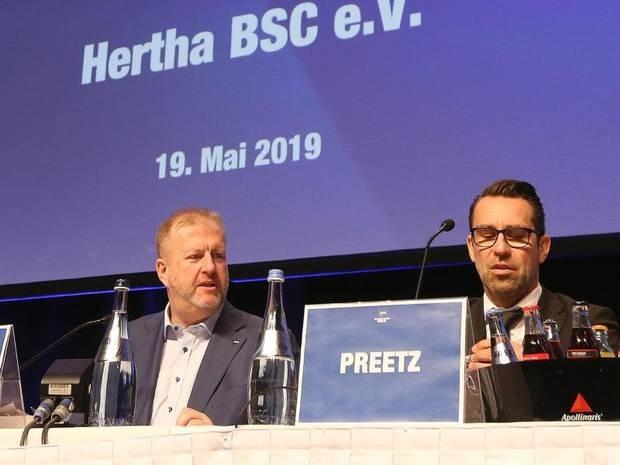 Nach Investor-Einstieg: Schiller: Für Hertha-Börsengang keine konkreten Überlegungen