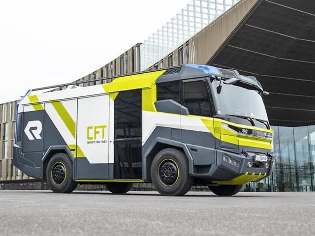 Concept Fire Truck: Tatütata, die Zukunft ist da