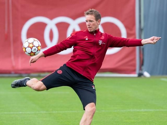 FC Bayern mit Coman im Abschlusstraining für Kiew-Heimspiel