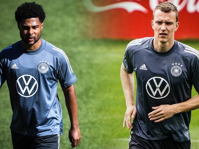 Gnabry geschont, Klostermann verletzt: Zwei DFB-Stars fehlen beim Training
