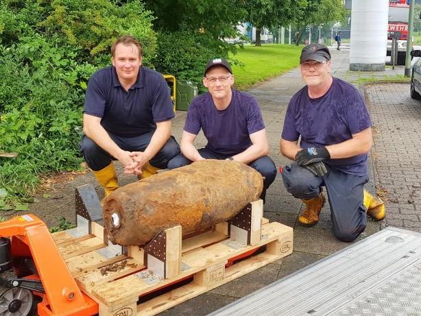 Bombenentschärfung: Zehn-Zentner-Bombe in Duisburg-Neuenkamp gefunden