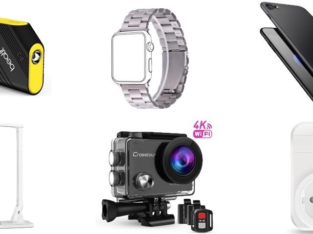 Amazon Blitzangebote: Anker Zubehör, iPhone 8 Hüllen, Powerbanks, Mini Beamer, USB-Ladegeräte, Apple Watch Edelstahlarmband und mehr