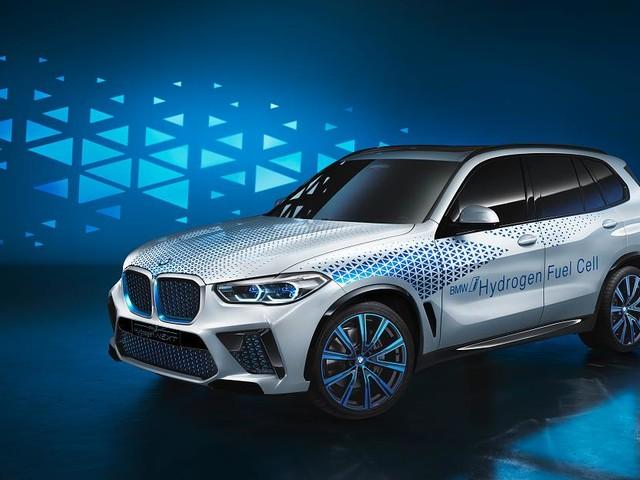 Brennstoffzelle statt reines Batterieauto - BMW präsentiert Wasserstoffauto i Hydrogen NEXT