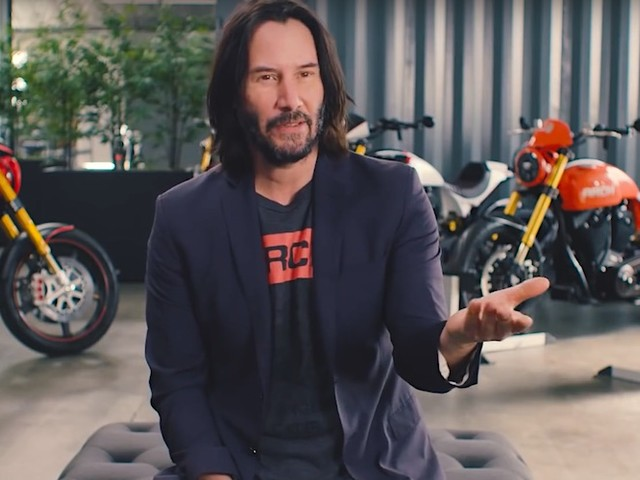 Keanu Reeves zeigt seine wertvollsten Motorräder