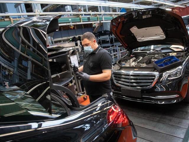Autoindustrie: Daimler weitet Kurzarbeit wieder deutlich aus