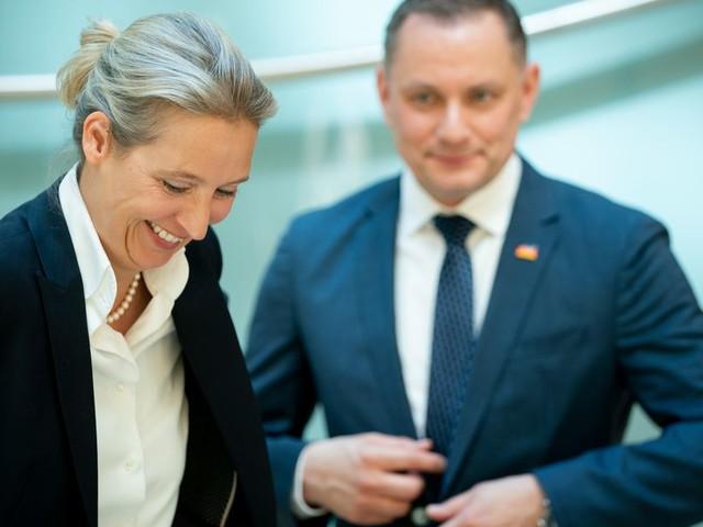 Mitglieder haben abgestimmt: Weidel und Chrupalla führen AfD in den Bundestagswahlkampf