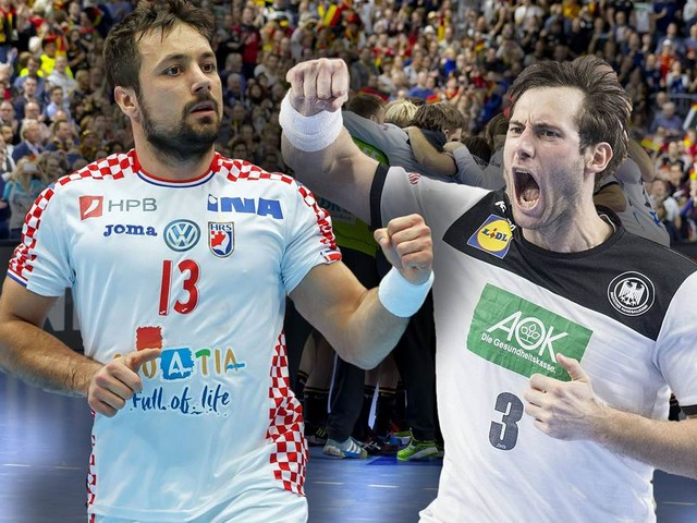 Handball-WM: Das Duell gegen Kroatien in vier Punkten
