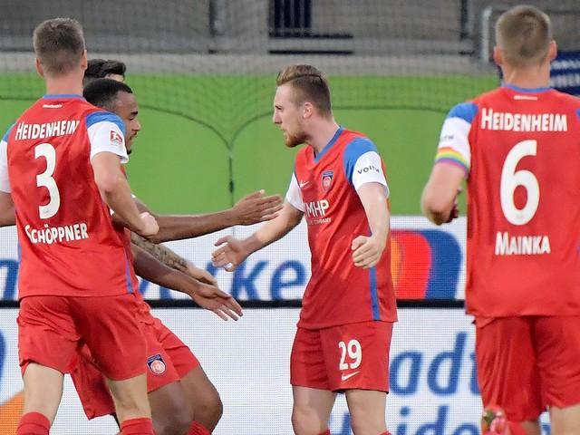 2. Bundesliga: 1. FC Heidenheim - Darmstadt 98 2:1, 8. Spieltag