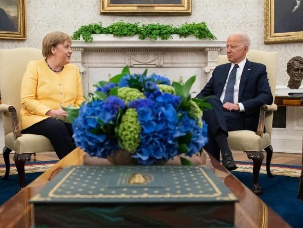 Merkel trifft Biden im Weißen Haus