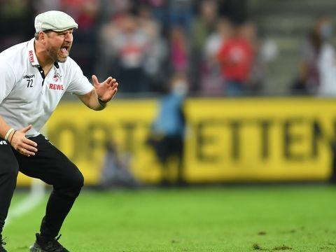 """FC gegen den Vize-Meister - """"Löwe an der Linie"""": Trainer Baumgart euphorisiert Köln"""