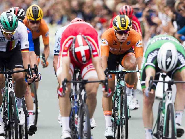 Straßenrennen in Alkmaar: Ackermann gewinnt EM-Bronze