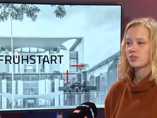 """Carla Reemtsma im """"Frühstart"""": """"Scholz wäre kein Klima-Kanzler"""""""