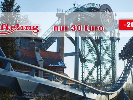 Efteling 2017/18 zum Sparpreis: Eintrittskarte nur 30 Euro statt 37,50 Euro mit Rabatt-Angebot