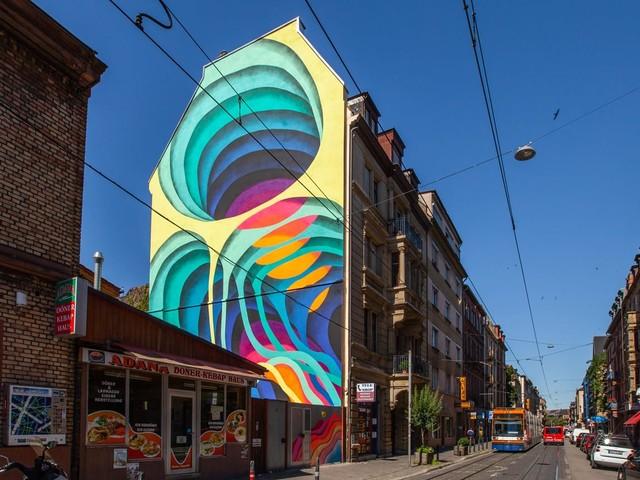 Urban Art Perle am Rhein und Neckar: Mural-Spaziergang durch Mannheim