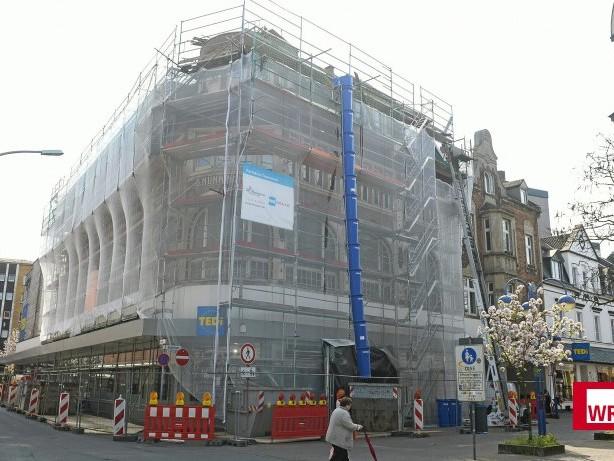 Stadtentwicklung: Das Kaufhaus Nünninghoff in Homberg wird herausgeputzt