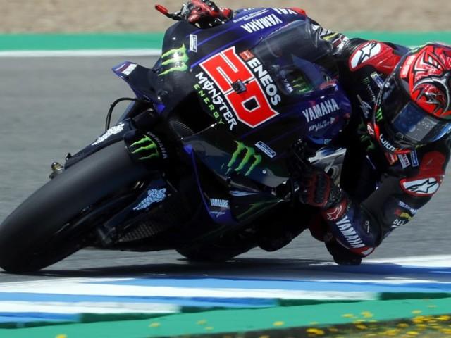 MotoGP: WM-Leader Quartararo auf Pole, Superstar Marquez stürzte