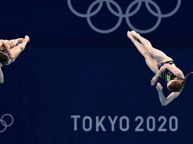 Erste deutsche Olympia-Medaille: Wasserspringerinnen holen Bronze