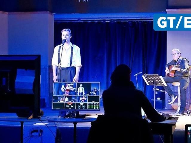 """Musikshow im Jungen Theater Göttingen: So lief die Online-Premiere von """"Land in Sicht"""""""