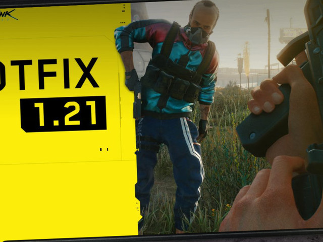 """""""Cyberpunk 2077"""": Hotfix 1.21 veröffentlicht"""