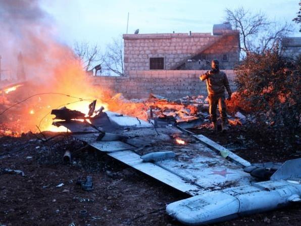 Hat US-Rakete russichen Kampfjet abgeschossen?